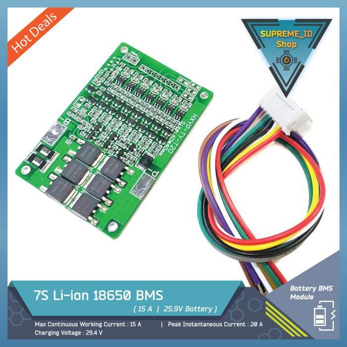 Kea 7S 25.9V Li-Ion Lithium 18650 Bms Battery Charger Module 29.4V 15A