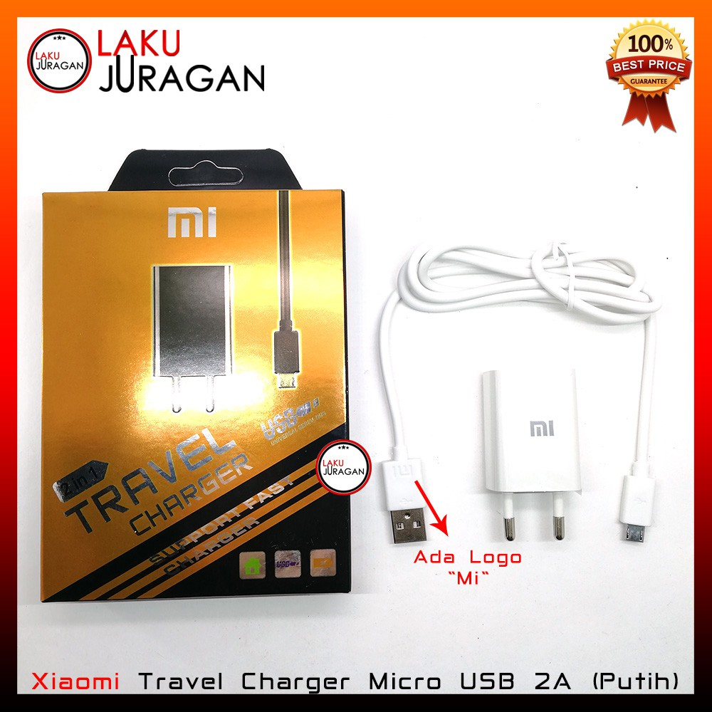 Kabel Data Charger XiaoMi Fast Charging Original OEM Casan Redmi 1S 2S 3 Note Series Mi Series | Shopee Indonesia