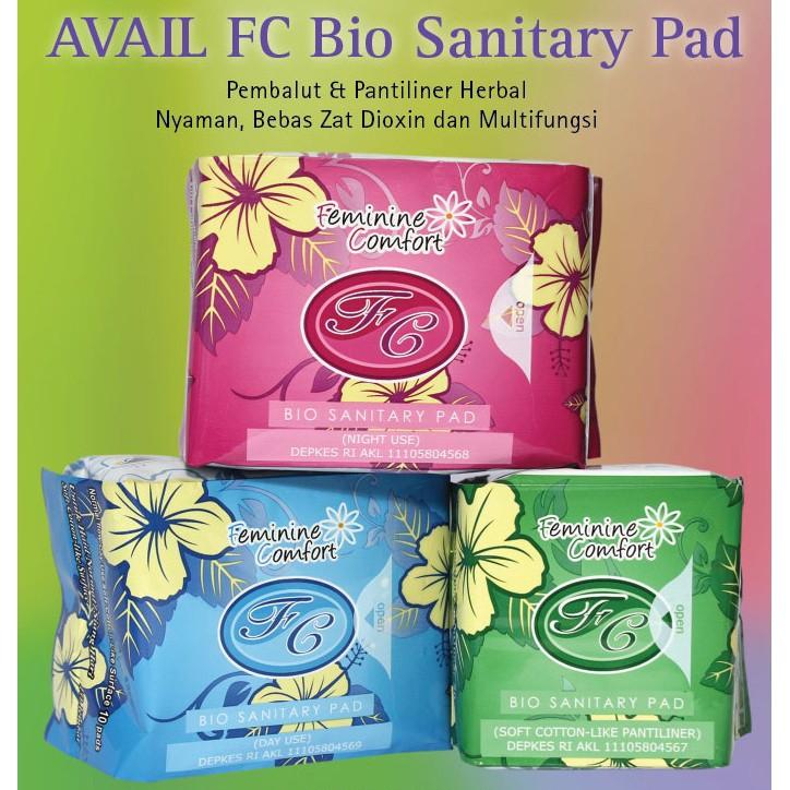 Avail Pantiliner Hijau Pembalut Kesehatan Wanita Herbal Feminine Comfort   Shopee Indonesia