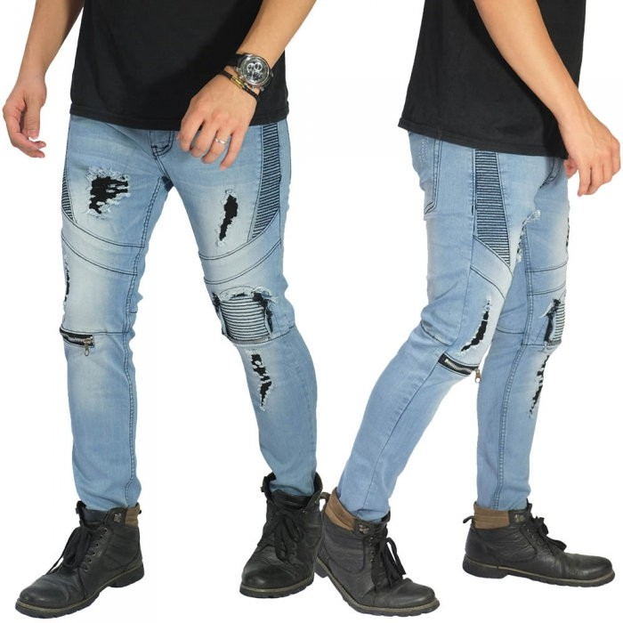 celana sobek - Temukan Harga dan Penawaran Jeans Online Terbaik - Pakaian Pria November 2018 |