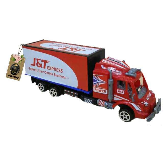 Mobil Mainan Ekspedisi J T Mobil Mobilan Mobil J T Mobil Truck Mobil Box J T Shopee Indonesia