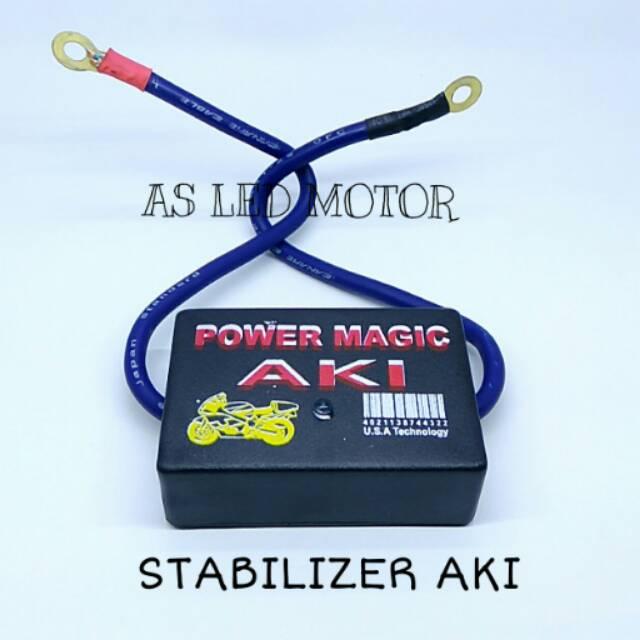 Stabilizer Aki Untuk Penstabil Tegangan Aki Accu Motor Mobil 6-24V DC | Shopee Indonesia