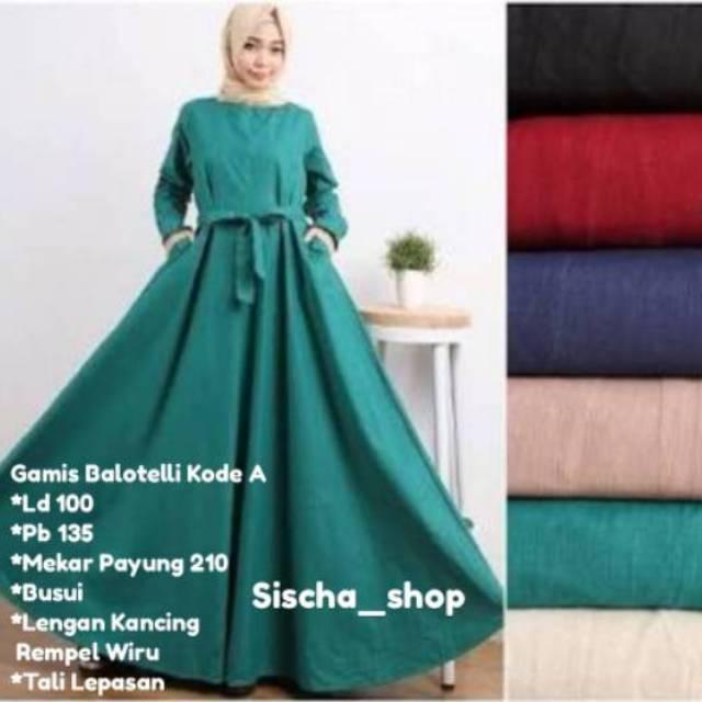 Busana Muslim Baju Wanita HIKMAT J2205 Abaya  ae8f1c5425