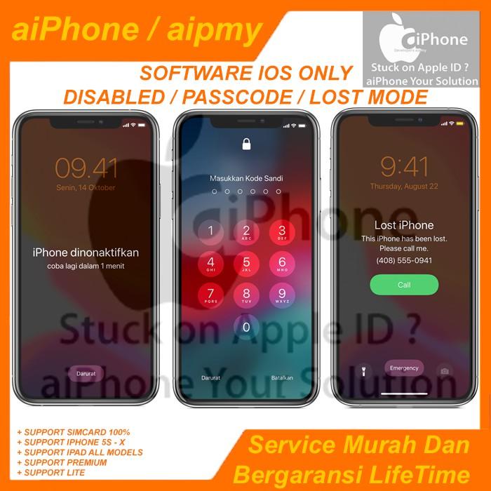 Jasa Bypass Iphone Unlock Icloud Premium Shopee Indonesia