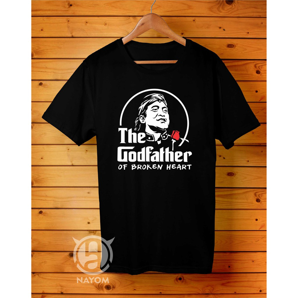 Kaos Ambyar Didi Kempot The Godfather Of Broken Heart Sobat Ambyar