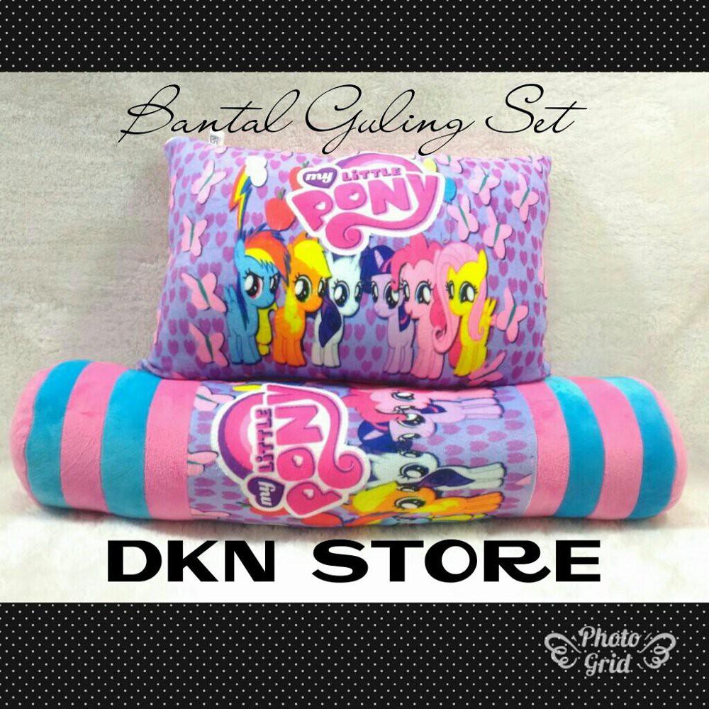 Bantal Guling Cinta Dakron Paket Berkualitas Shopee Indonesia Dacron Ampamp Yuki Springbed Sepasang
