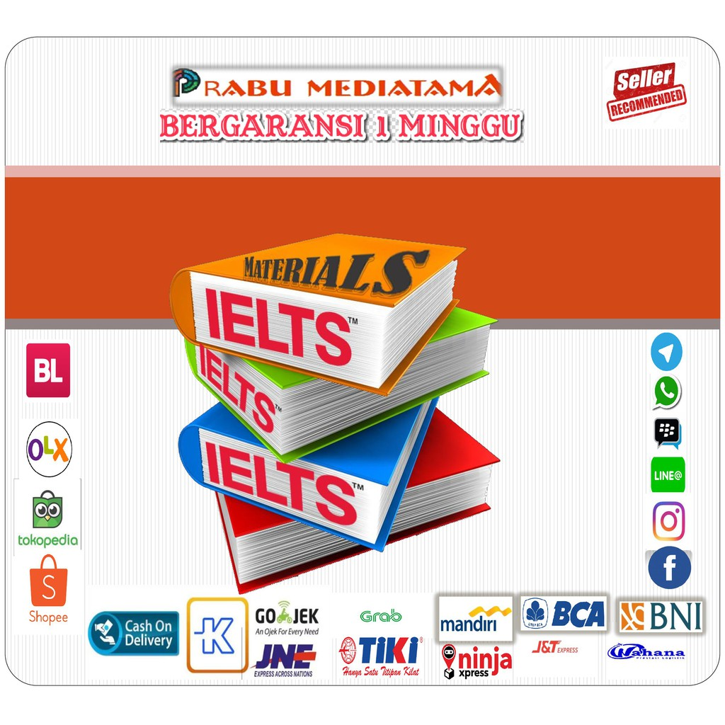 HUGE Collection IELTS Materials 30 GB