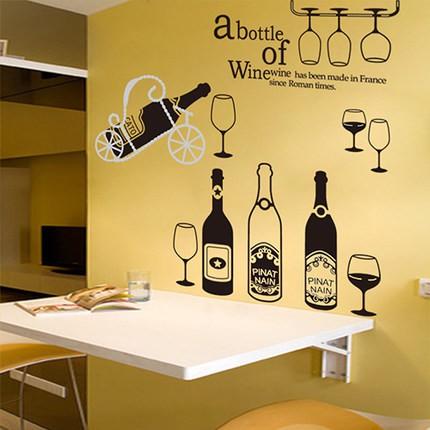 Evanurita Wall Sticker Dinding Kamar Cowo Cowok Siluet Botol Wine Hitam Botle Jm7211 Xl Shopee Indonesia