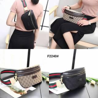 Tas Pinggang Gucci GG Kanvas Supreme Waist Bag F2240  ce4fa65213