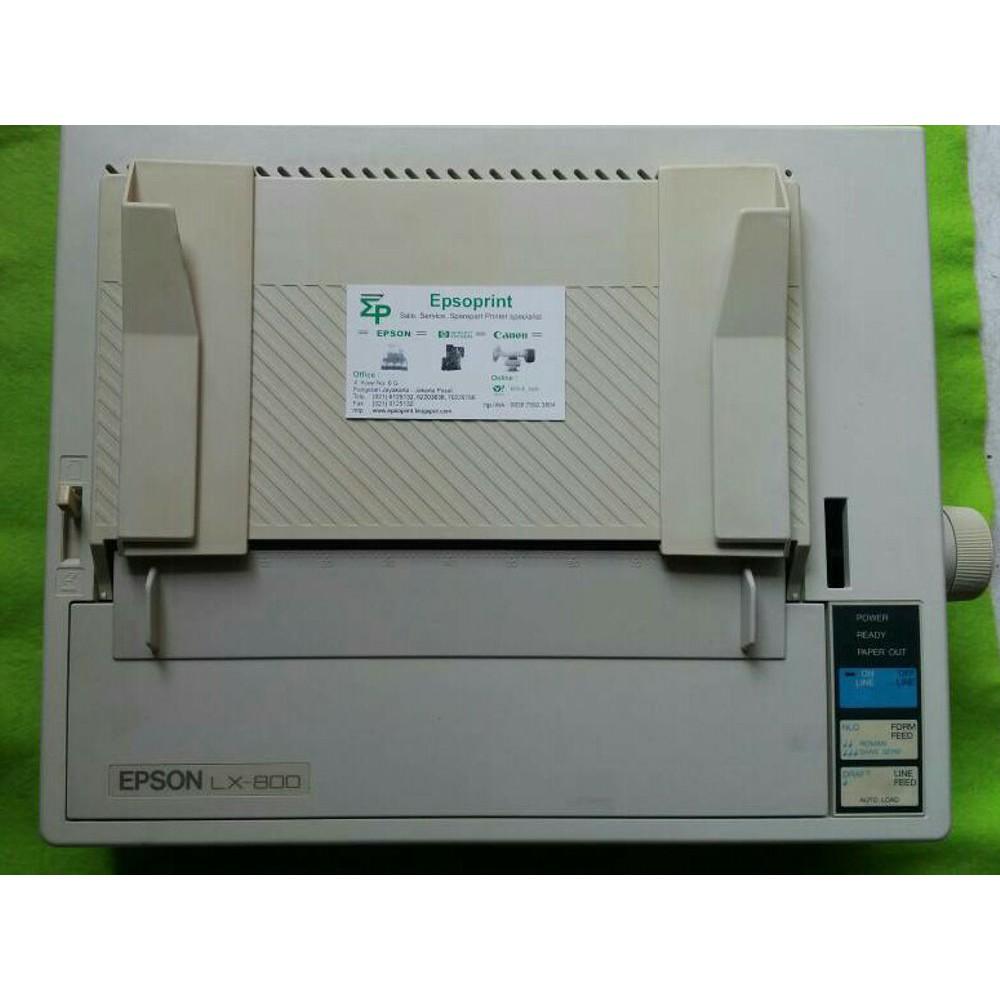 Special Printer Epson Lx800 Murah Berkualitas Dot Matrix Lx 800 Paper Tray Sandaran Kertas Lx300 Ii 300 Ori New Mulus Terlaris Shopee Indonesia