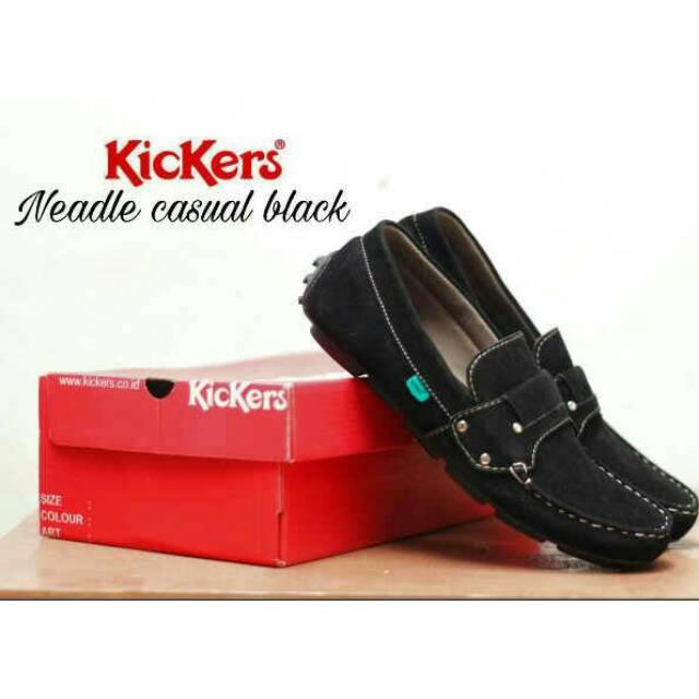 sepatu kickers slop slow pria sepatu casual sepatu slip on kickers ... fb304dcb94