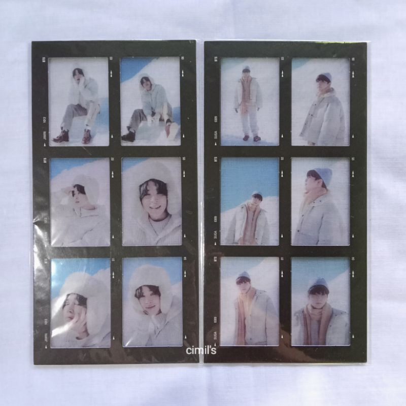 BTS Winter Package DVD PC winpack Photocard Jhope Jimin Taehyung