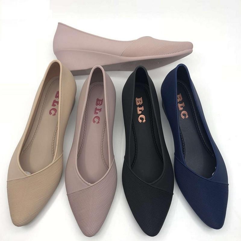 Jelly Shoes 01 Flat Shoes Sepatu Kerja Wanita Sepatu Murah