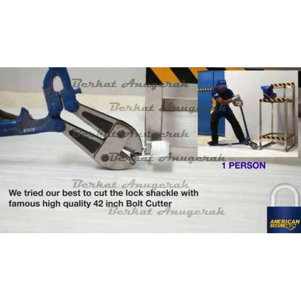 Gembok anti maling American Tool 60mm pendek anti cairan setan cairan kimia anti pukul   Shopee