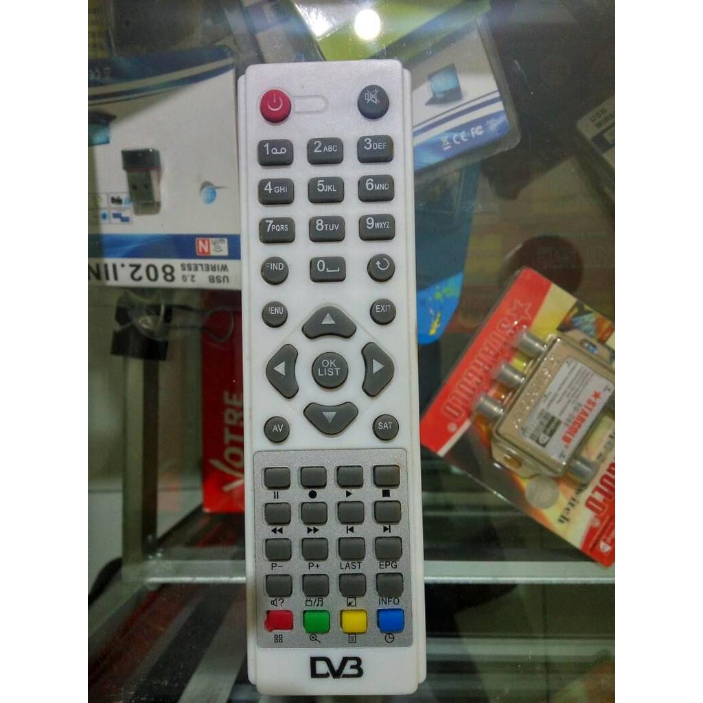 Remot Reciver Parabola Universal Getmecom Shopee Indonesia Remote Receiver Multi Rj 28
