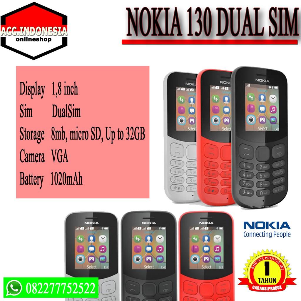 Promo Harga Nokia 130 2017 Handphone Merah Update 2018 Resmi Tam Erajaya Ex Display Z Camera Garansi 1 Tahun Shopee Indonesia