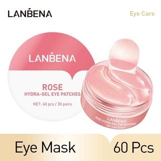 LANBENA Rose Hydra Gel Collagen Eye Mask Patches 60 Pcs thumbnail