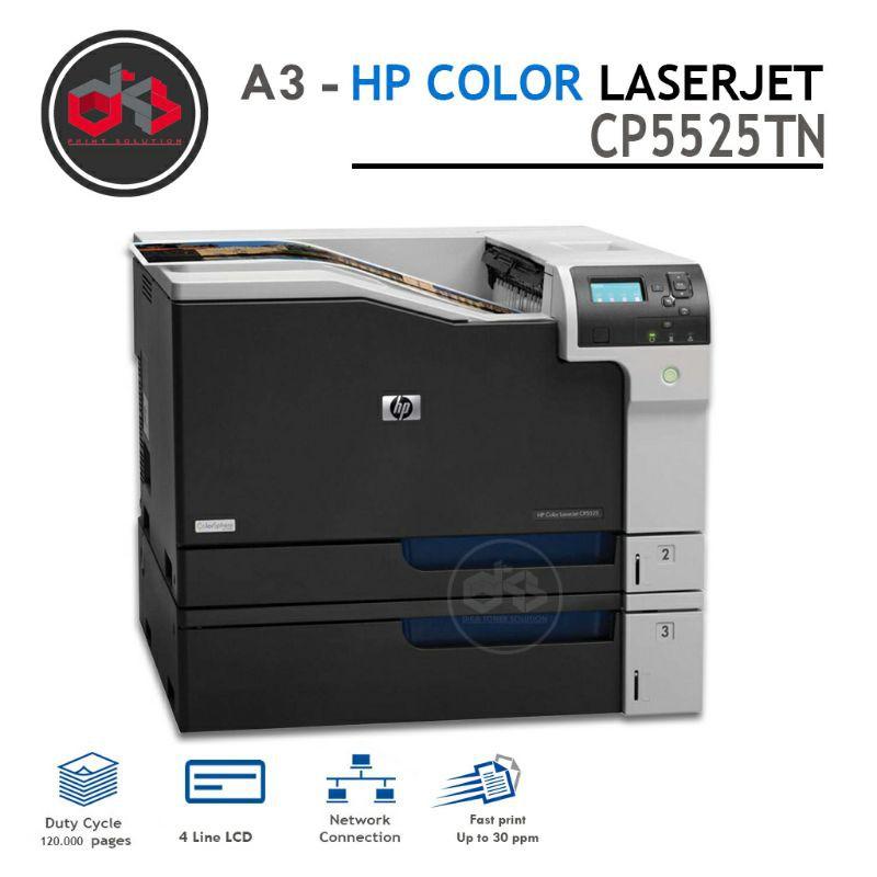 Printer warna A3   HP Color LaserJet CP5525 - Tanpa tray 3