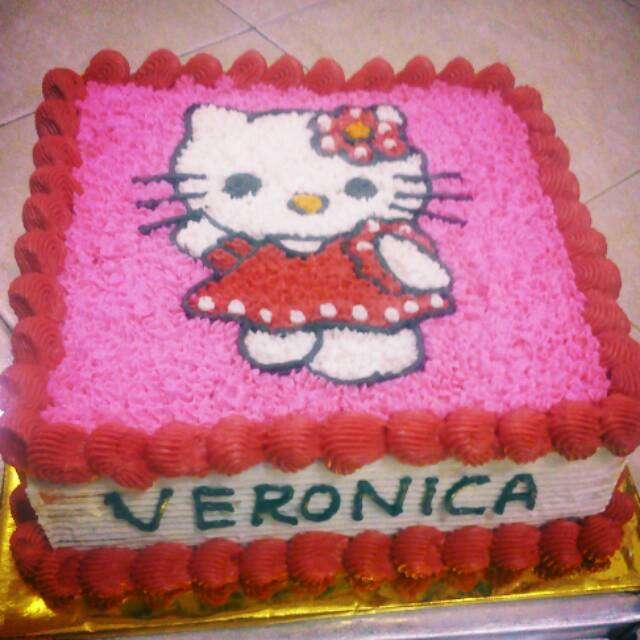 Kue Tart Hello Kitty Khusus Gosend