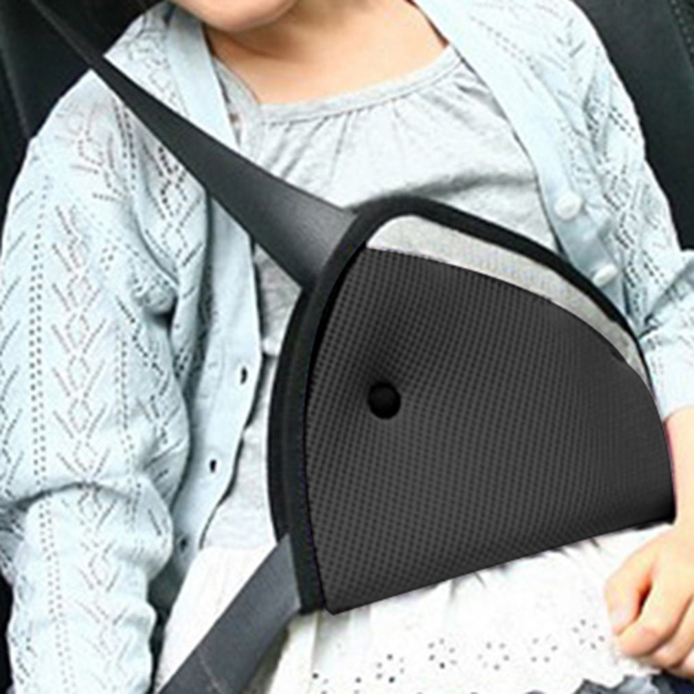 New Seat Cover Protect Child Baby Kids Holder Shoulder Harness Strap Car Child Safety Cover Seat Belts Triangle