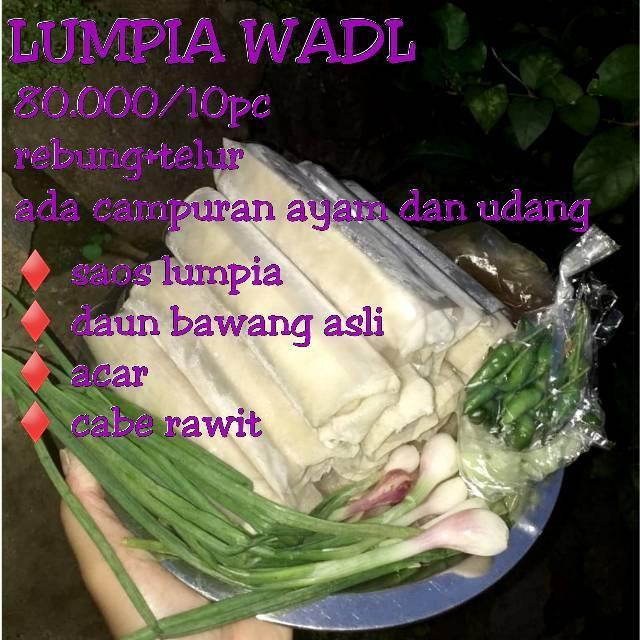 Jumbo Lumpia Isi 10pc Semarang Special Rasa Udang Ayam Rebung Dan Telur Shopee Indonesia
