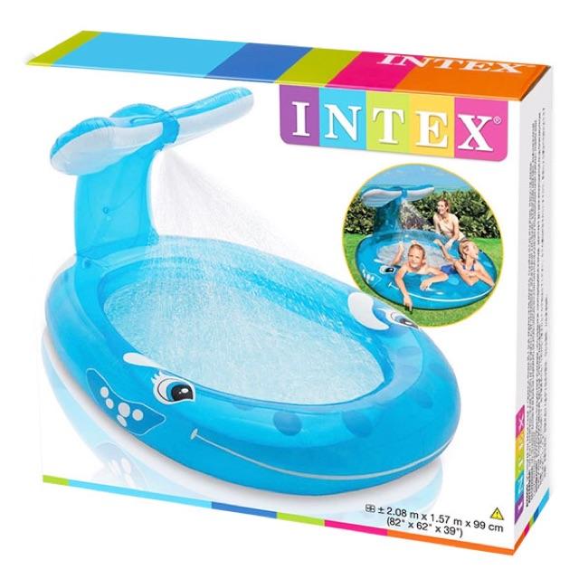 Kolam mandi bola play center Intex smiley giraffe baby pool kolam renang anak | Shopee Indonesia