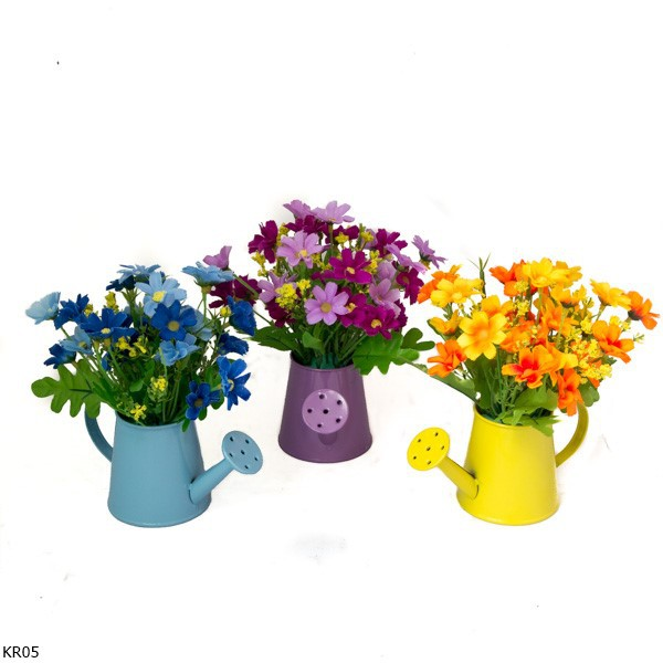 LF Buket Bunga Lavender Vas Ember Shabby Chic LV19  0fead23647