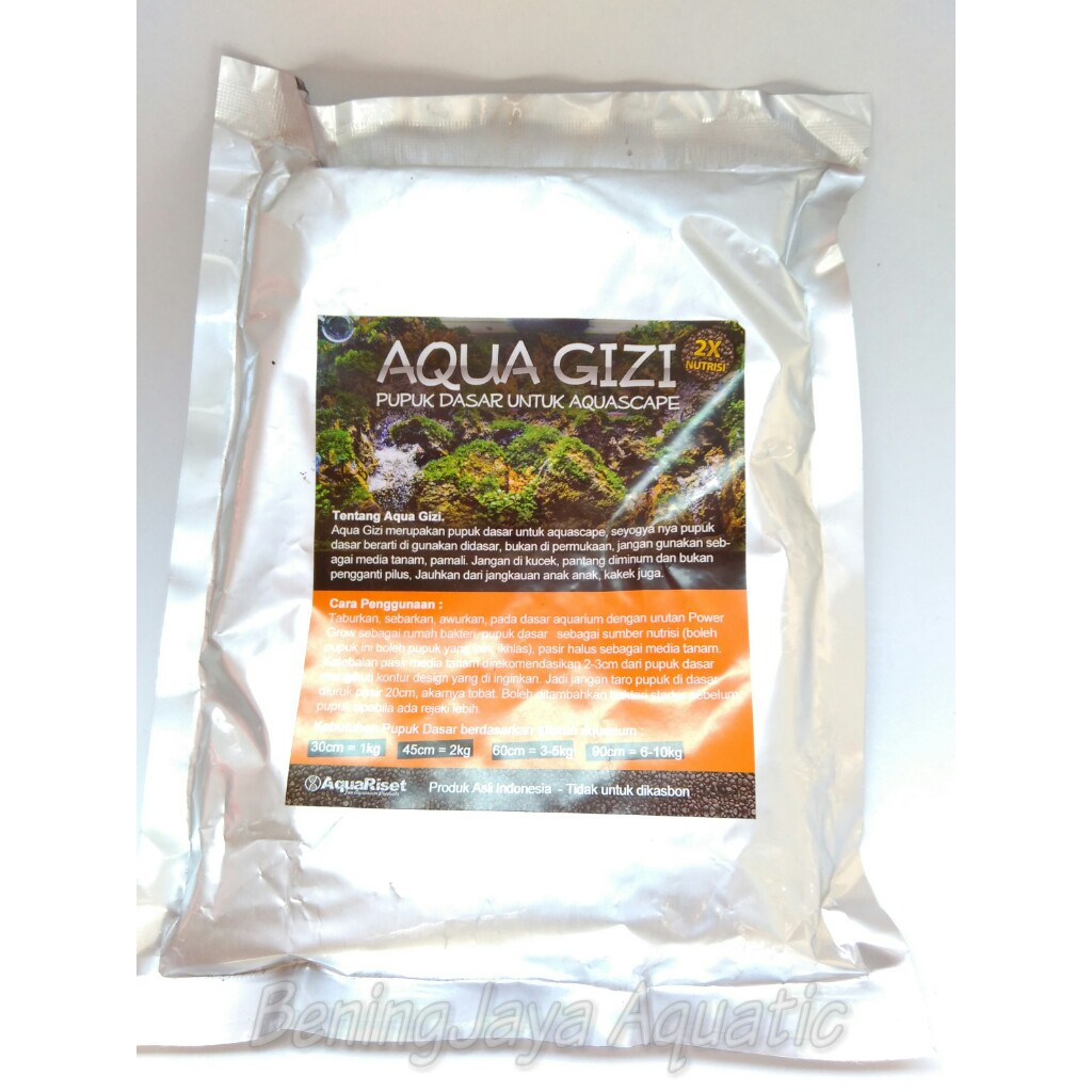 Aquagizi 1kg Pupuk Dasar aquascape