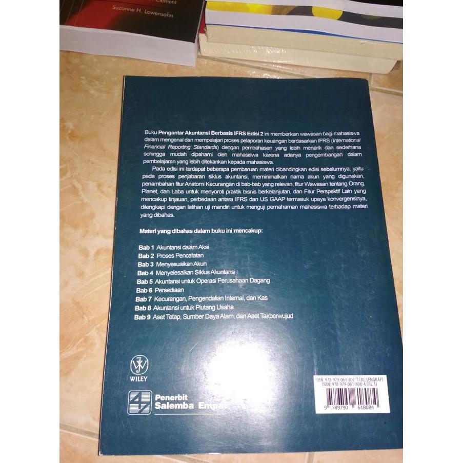 BEST SELLER Pengantar Akuntansi 1 Berbasis IFRS Edisi 2 By  Kieso