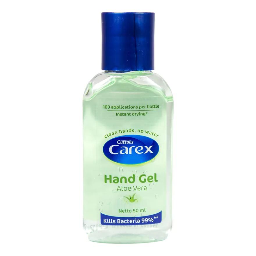 produk carex hand sanitizer