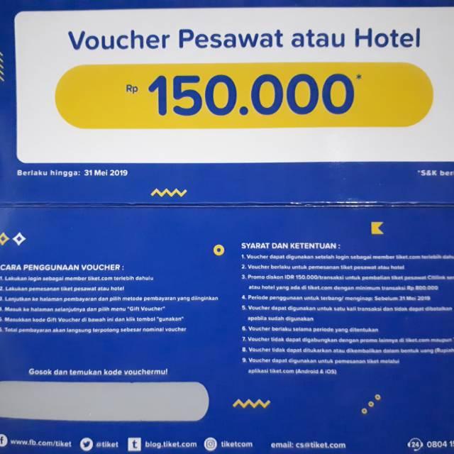 Voucher Pesawat Atau Hotel Shopee Indonesia