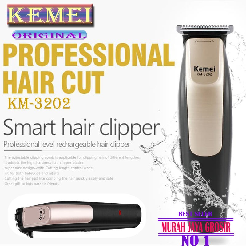 Alat Cukur Rambut Jiangho Hair Electrik Clipper Alat Potong Rambut electric  clipper set  d570aa8329