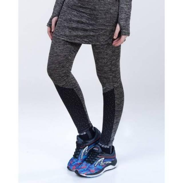 Celana Olahraga Wanita Muslimah Specs Esorra Skirt Legging Rok Original Murah Running Senam Fitnes Shopee Indonesia