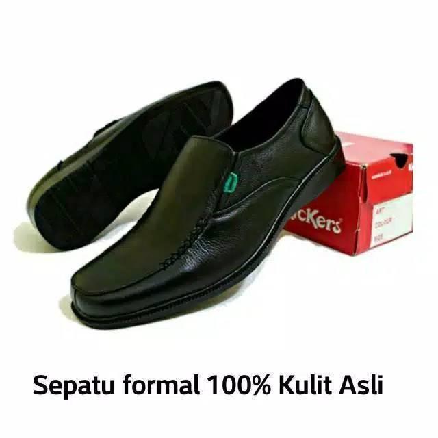 Sepatu Formal   kantor   pantofel Pria kulit hitam Catenzo MP 124 asli  3275ba4889