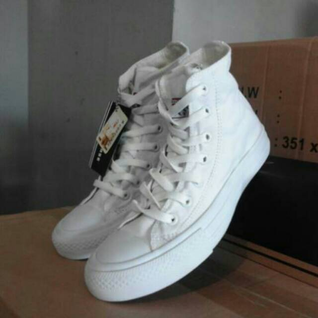 Converse ct high full white  converse putih tinggi  f51b364b09