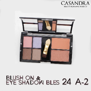 CASANDRA BLUSH ON & EYE SHADOW BLES 24 A thumbnail