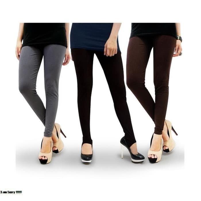 Legging Leging Lejing Celana Panjang Dewasa Spandek Jersey Licin Allsize Murah Ecer Grosir Shopee Indonesia