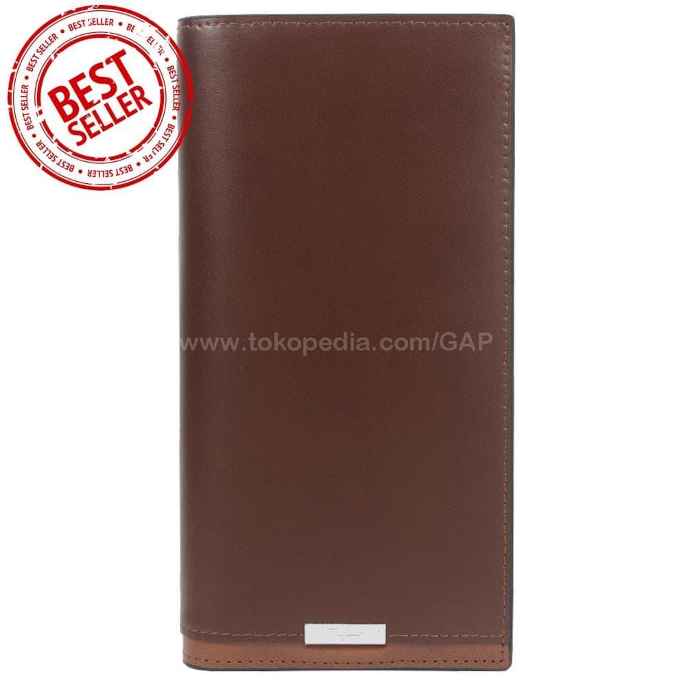 Harga New Dompet Kulit Panjang Pria Import Bally 023 2349 Brown 35e471f5c4