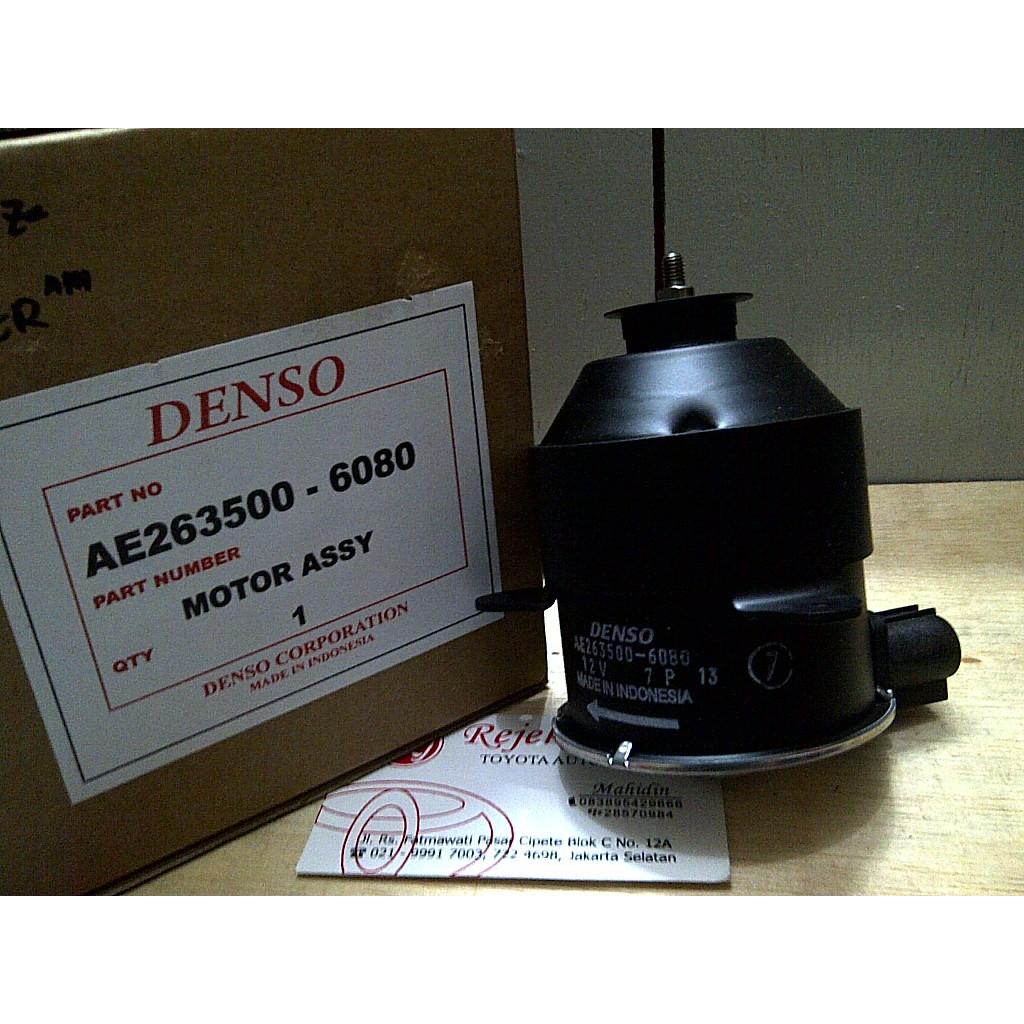 Motor Extra Fan Dinamo Radiator Avanza Xenia Rush Terios Daihatsu Original Denso Shopee Indonesia