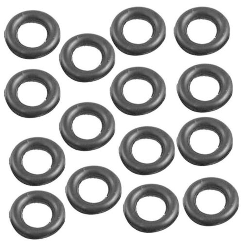 100Pcs Rubber O-Rings for Worm Wacky Rig O-Ring Tools Fishing Bite Indicator Use