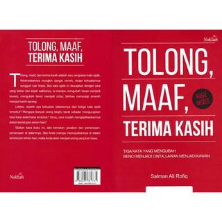 Buku Murah Tolong Maaf Terima Kasih Shopee Indonesia
