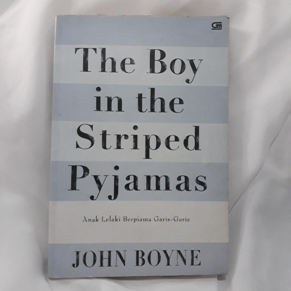 Buku The Boy In The Striped Pyjamas John Boyne Shopee Indonesia