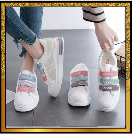 Baru Sneakers Wanita Ala Korea Sepatu Remaja Kekinian Sepatu