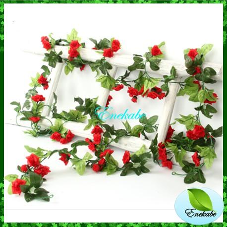 bunga rambat daun rambat artificial palsu bunga artificial