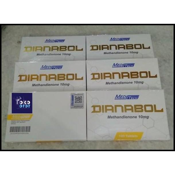 ORIGINAL DIANABOL MEDITECH 100TABS X 10MG