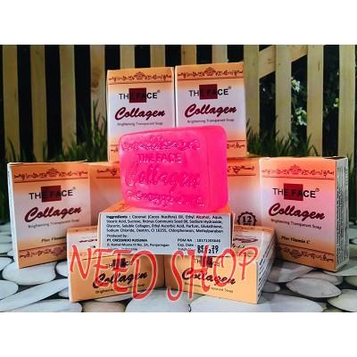 Bpom Sabun The Face Collagen Brightening Transparant Soap Plus Vit C Shopee Indonesia