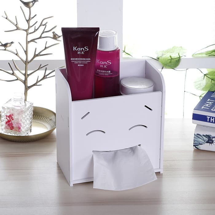 DIY 2 in 1 Kotak Tisu Kosmetik Box Tissue Cosmetic Tempat Tisu | Shopee Indonesia