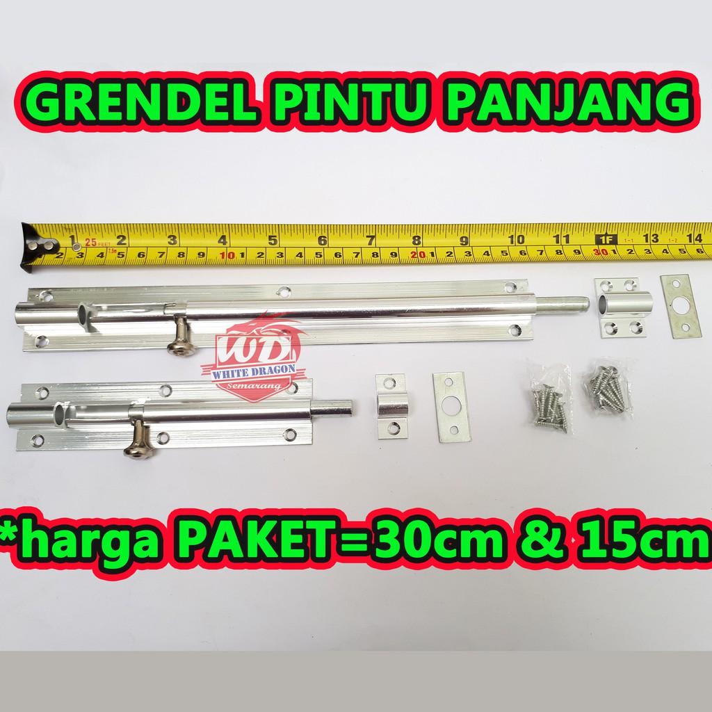 Paket Grendel Pintu Panjang Grendel Pintu Kupu Tarung Grendel Pintu Dobel Shopee Indonesia Grendel pintu kupu tarung