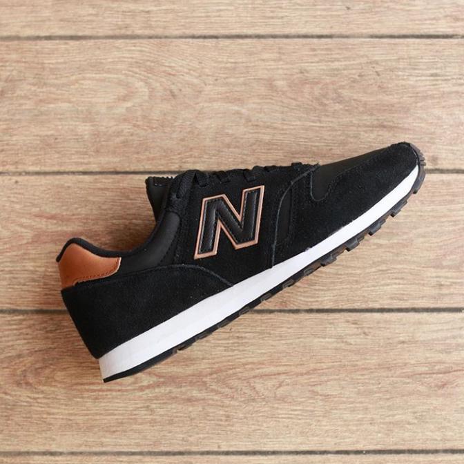 """sepatu sneakers termurah NEW BALANCE 373 """"BLACK/BROWN"""