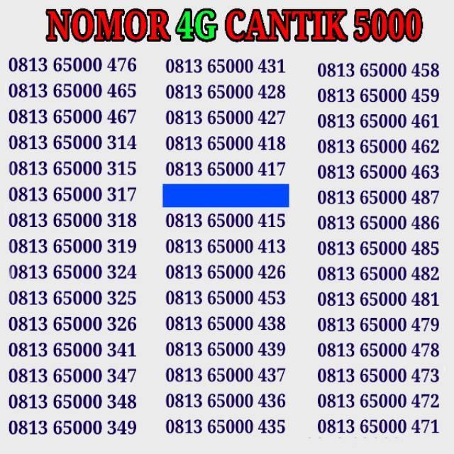 TELKOMSEL SIMPATI NOMOR CANTIK 0812 8888 2251. Nomor cantik simpati .